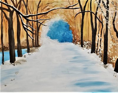 Paint and Vino: Winter Walk