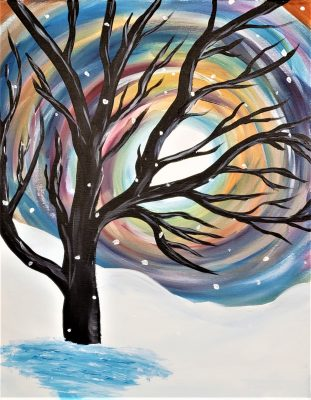 Paint and Vino: Winter Solstice