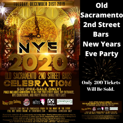 New Year's Eve 2nd Street Bar Special