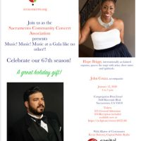 Sacramento Community Concert Association Gala