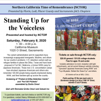 Standing Up for the Voiceless: Time of Remembrance