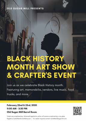 Black History Month Art and Crafter's Show 2020
