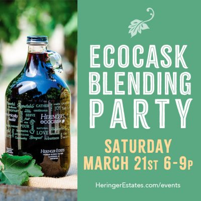 Eco Cask Spring Blending Party (Cancelled)