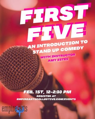 First Five: An Introduction to Stand Up Comedy