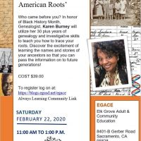 Tracing Your African-American Roots