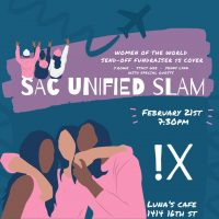 SacUnified Poetry Slam: Women of the World Send-off Show
