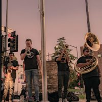 City of Trees Brass Band and Lantz Lazwell