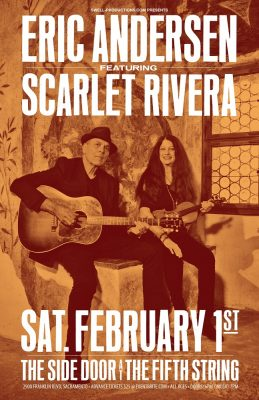 Folk Icons Eric Andersen and Scarlet Rivera