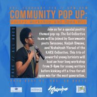 Poetry Workshop and Open Mic