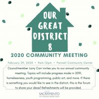 District 8 Community Meeting