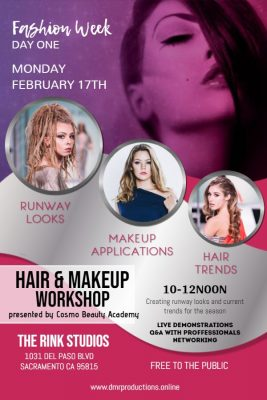 Hair and Makeup Workshop (Fashion in the City)