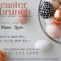 Easter Brunch at the Hyatt (Cancelled)