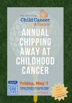 Chipping Away at Childhood Cancer