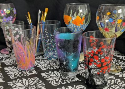 Pint Glass Painting Workshop