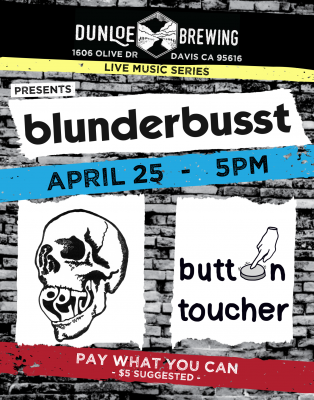 Blunderbusst, Pets, and Button Toucher
