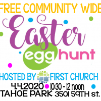 Easter Egg Hunt at Tahoe Park (Cancelled)