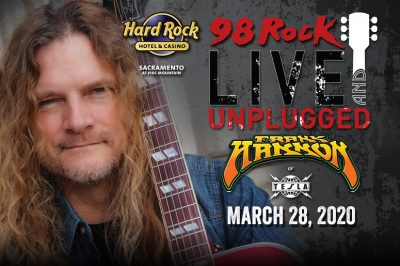 Live and Unplugged: Frank Hannon of Tesla (Postponed)