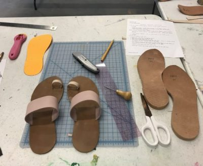 Sandal-Making (Postponed)