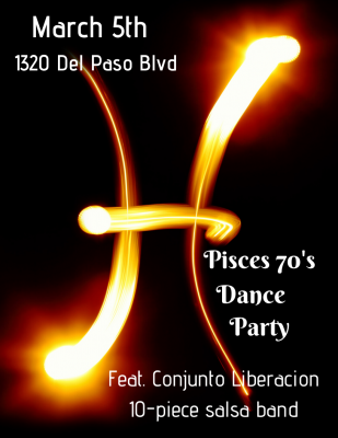 Pisces '70s Theme Party with Live Band (Cancelled)