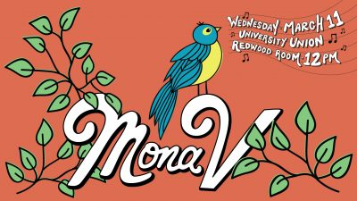 Nooner Event: Mona V (Canceled)