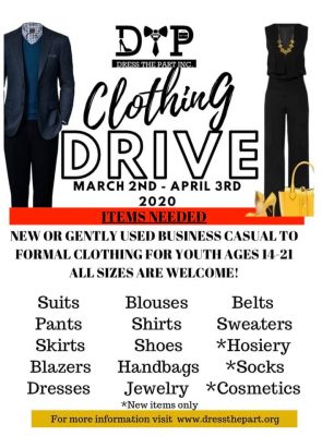 Dress The Part Clothing Drive