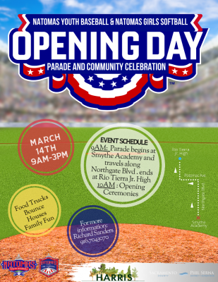 Natomas Youth Sports Opening Day Parade (Cancelled)