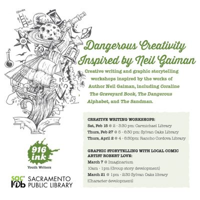 Graphic Storytelling Workshop (Cancelled)