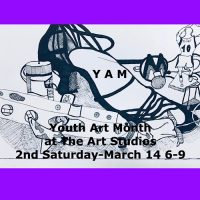 Youth Art Month at The Art Studios