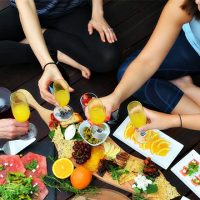 Bottomless Mimosa Yoga Brunch