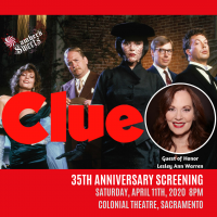Clue with Leslie Ann Warren (Postponed)