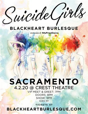 Suicide Girls Blackheart Burlesque (Postponed)