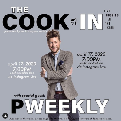 The Cook In: Live Cooking at the Crib (Sold Out)