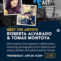 Meet the Artists: Roberta Alvarado and Tomas Montoya (Online)