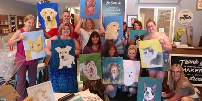 Paint Your Pet Virtually with Creatively Carrie