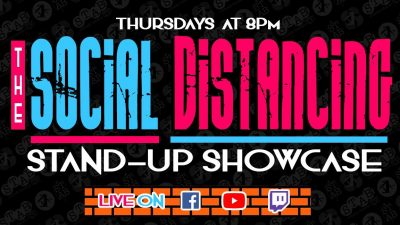 The Social Distancing Stand-Up Showcase (Online)