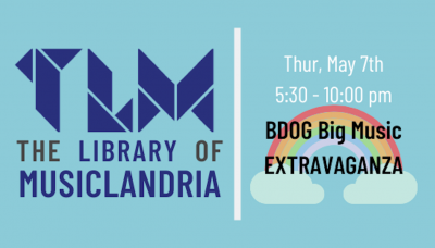 Library of MusicLandria Big Day of Giving Big Music Extravaganza (Online)