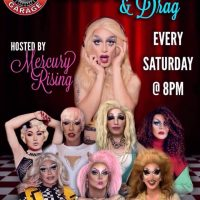 Capitol Garage Dinner and Drag Show (Saturday)