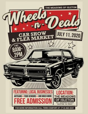 Wheels and Deals! Car Show and Flea Market (Cancelled)