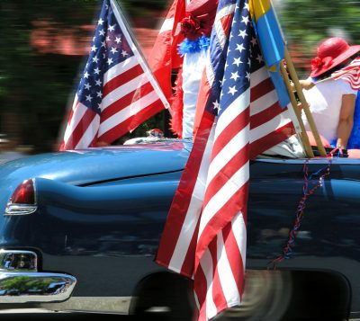July Fourth Celebration Car Parade and Wine Bundle
