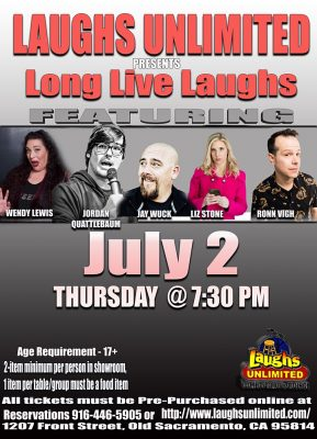 Long Live Laughs (Cancelled)