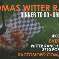 Natomas Witter Ranch Dinners To Go