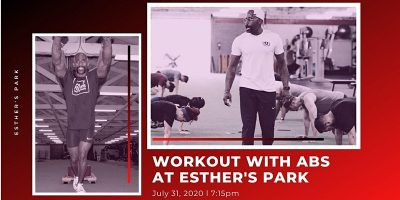 Workout at Esther's Park