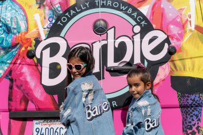 Barbie Pop-Up Truck Totally Throwback Tour