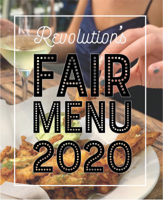 Revolution Kitchen and Winery's Fair Menu