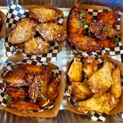 Wine Tasting and The Wing Spot Food Truck