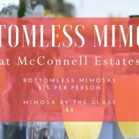 Bottomless Mimosas at McConnell Estates
