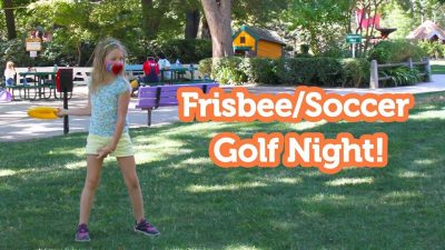 Family Frisbee and Soccer Golf Nights at Fairytale Town