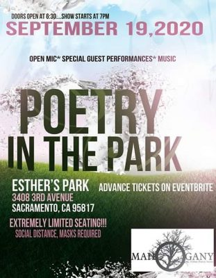 Mahogany Poetry at Esther's Park (Sold Out)