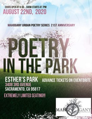 Poetry in the Park (Sold Out)