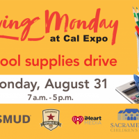 SMUD Giving Monday School Supply Drive at Cal Expo